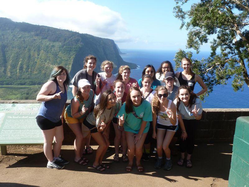 Group at waipio