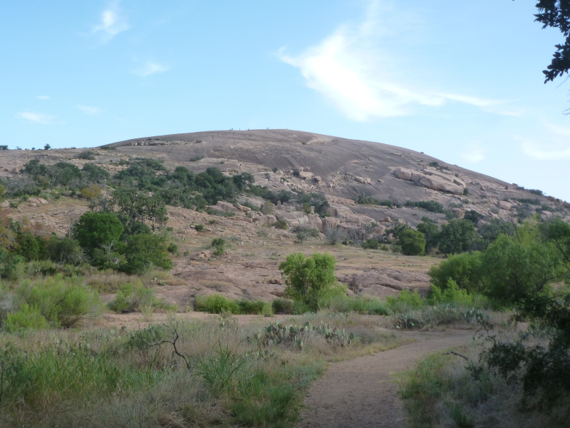 Enchanted rock view 3