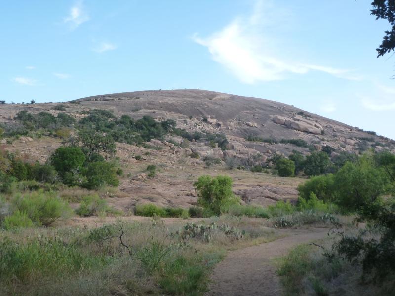 Enchanted rock view 3