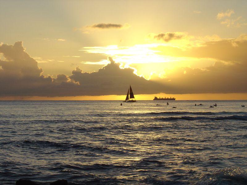 Waikiki_sunset_9