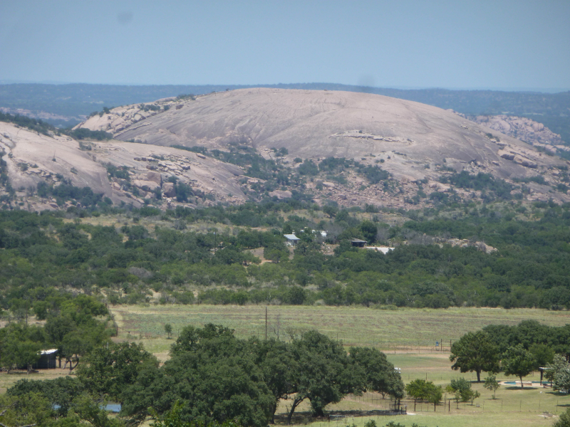 Enchanted rock view 2