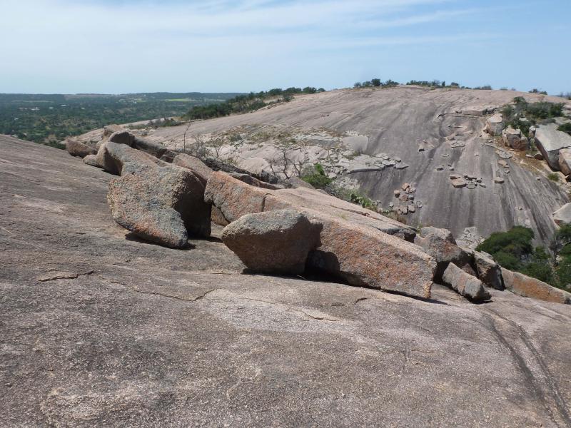 Exfoliation boulders